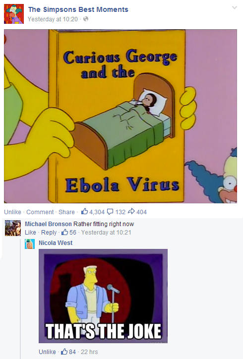 The Simpsons and Ebola? Could This Be Predictive Programming?