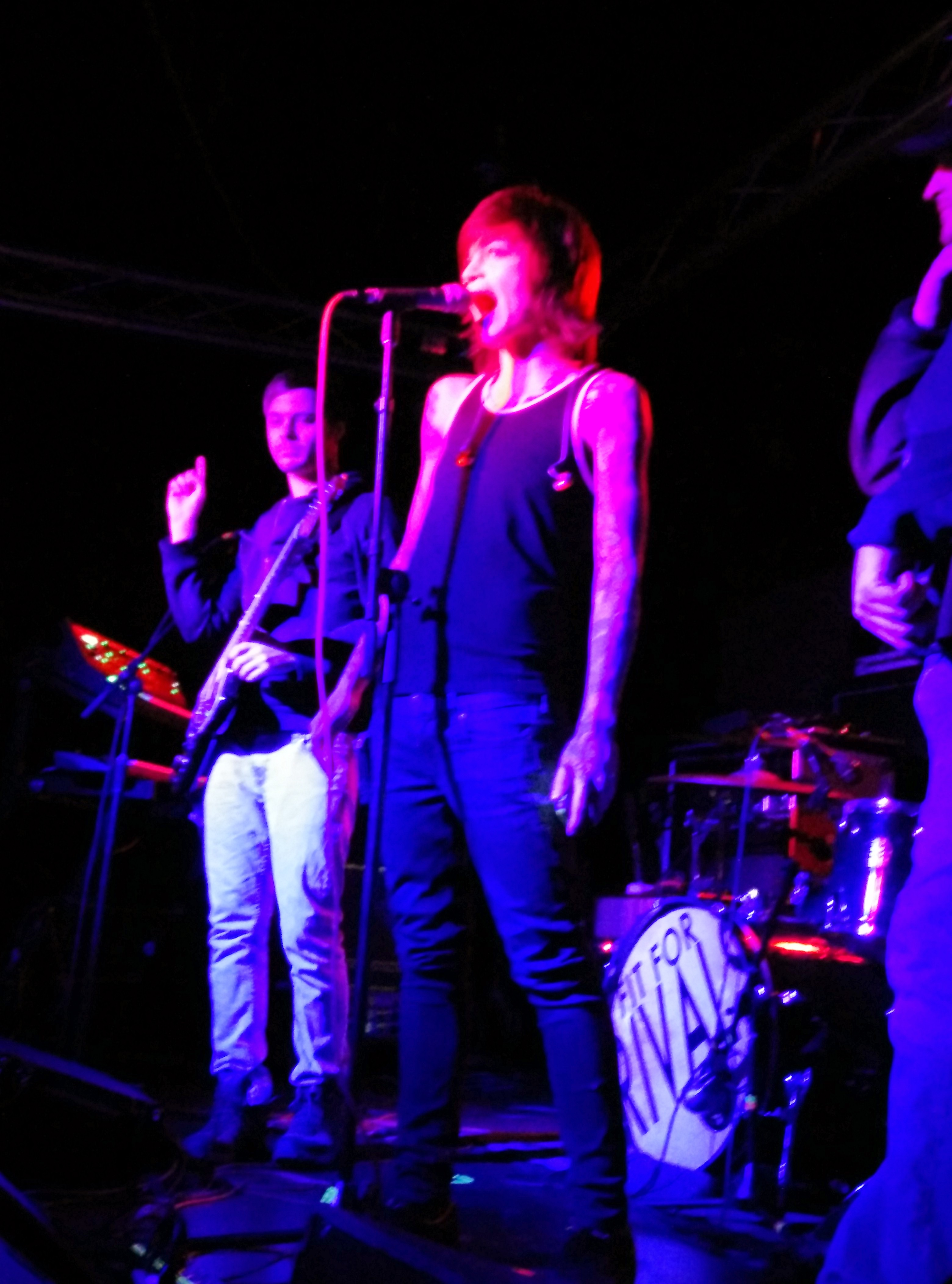 Fit For Rivals Impresses Salt Lake City With Real Rock N' Roll