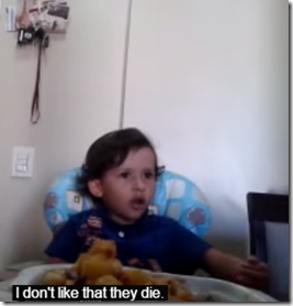 Little Boy Refusing To Eat Octopus Touches Millions of Hearts!
