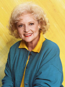 Betty White in Golden Girls