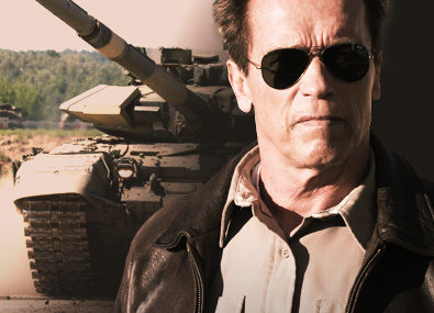 Win a chance to Blow Shit up With Arnold Schwarzenegger