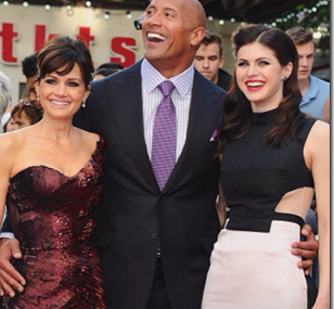 Alexandra Daddario Plays Dwayne Johnson's Daughter In 'San Andreas'