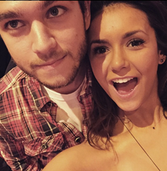 Zedd And Friend Nina Debrev Chillin And Practicing Spinning Records!