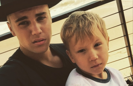 Justin Bieber And Jaxon Bieber Spending Quality Time Together!