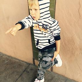 Justin Biebers Little Brother Jaxon Looking Swag!