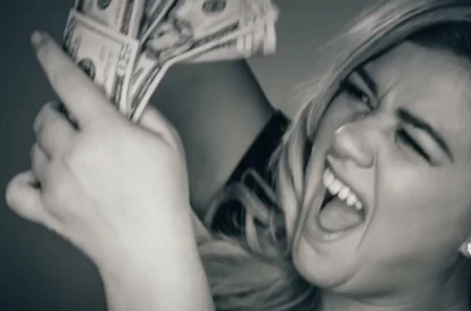 "Kelly Clarkson Covers Rihanna's ""Bitch Better Have My Money,"" Excellent Listen!"