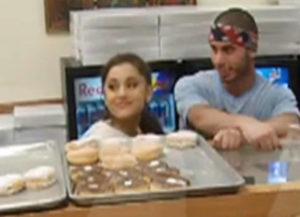 Ariana Grande-Donut-Shop