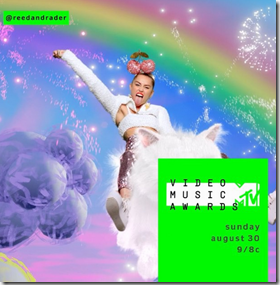 The MTV Has Welcomed Miley Cyrus And Eight Other Talented Celebrities On Stage At The VMAs!
