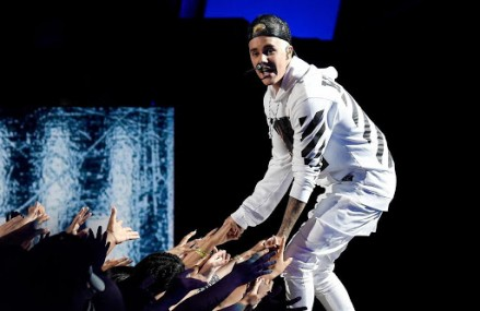 "Justin Bieber 'Think It Up' Charity Telethon Video: See Him Perform ""What Do You Mean?"""