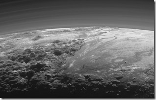 New Horizons Spacecraft Brings NASA A Closer Look At Pluto's Mountains!