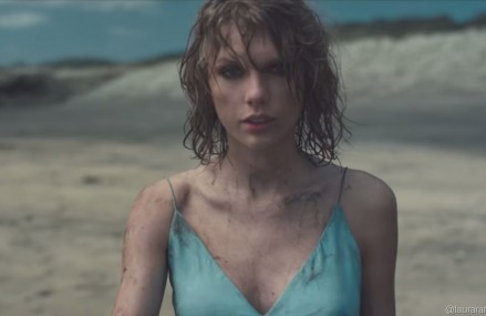 How Taylor Swift Got Down & Dirty Filming 'Out of The Woods!'