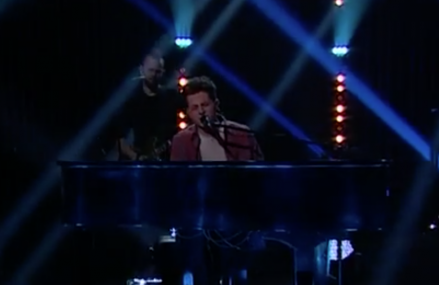 Charlie Puth performs 'One Call Away,' on The Late Late Show!