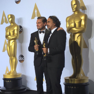 Leo wins Oscar