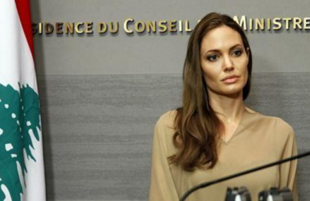 Angelina Jolie Visits Syrian Refugee Camp and speaks up!
