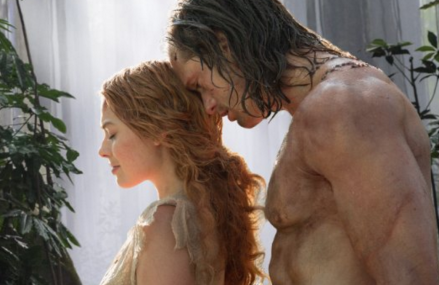 The Legend of Tarzan Trailer Features Hot and shirtless Alexander Skarsgard