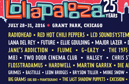 Lollapalooza Festival 2017 brings amazing artists!