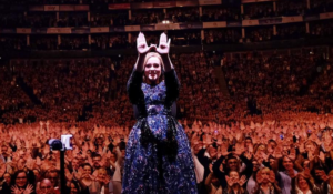 Adele revealed she grew a beard after getting pregnant and named it LARRY