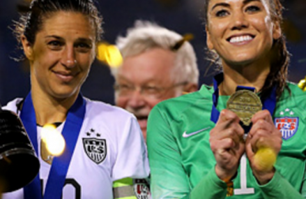 The U.S Women's Soccer Team want equal rights and fair pay!