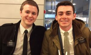 Mormon Missionaries caught in Brussels terrorist attacks return to Utah!
