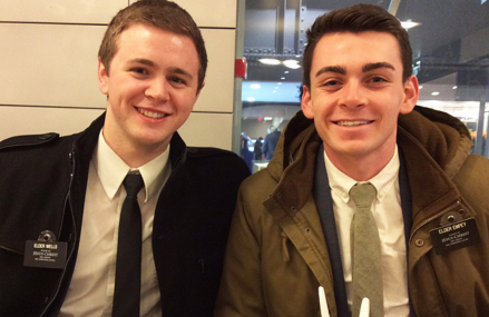 Mormon Missionaries caught in Brussels terrorist attacks return to Utah!