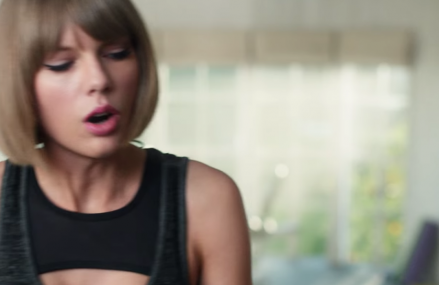 Taylor Swift vs Treadmill. Watch the hilarious video now!