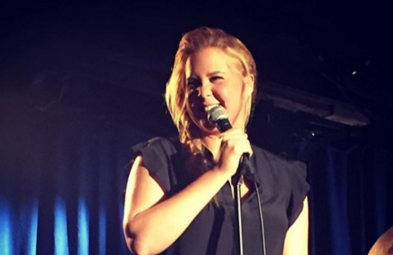 Glamour Mag places Amy Schumer on plus size issue & she's not happy!