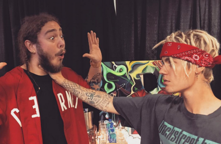Justin Bieber chokes Post Malone back in effort to end negative gossip!