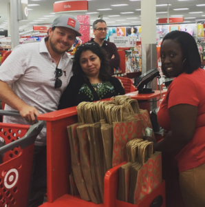 It was while shopping at a Target over this last weekend, Josh Abbott turned a small action into a huge act of kindness for one shopper.