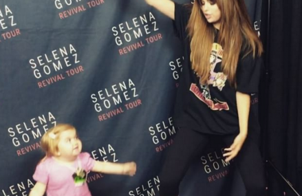 Selena Gomez dances with little Audrey Nethery! See her story!