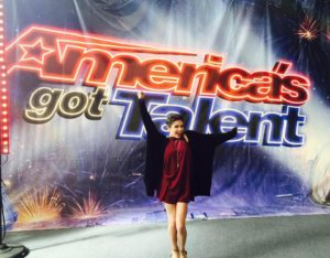 "Calysta Bevier wowed the ""America's Got Talent"" judges during Tuesday night's show. The 16-year-old Ohio native told her emotional story of overcoming stage 3 ovarian cancer and moved the audience to tears with her rendition of Rachel Platten's ""Fight Song."""