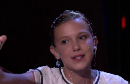 Stranger Things: Millie Bobby Brown raps 'Monster' by Nicki Minaj.