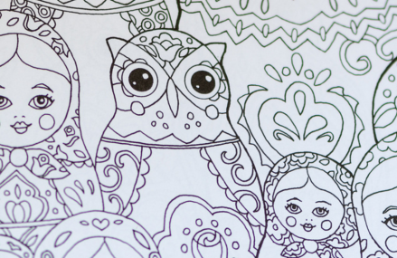 Why are adult coloring books a popular trend now?