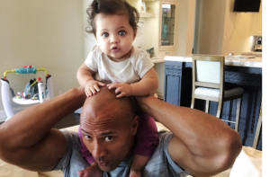 "Dwayne ""The Rock,"" Johnson gets pooped on"