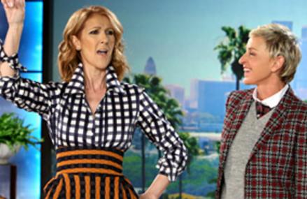 Celine Dion opens up about her husbands passing on Ellen.