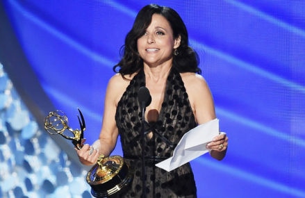 Julia Louis-Dreyfus wins Lead Actress in a Comedy at the 2016 Emmys!