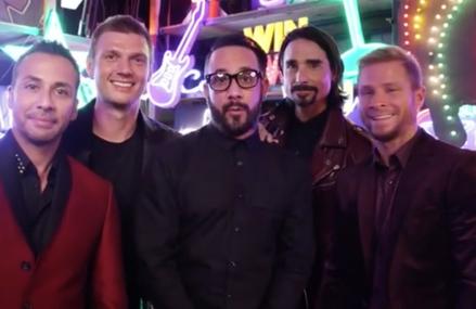 The Backstreet Boys are back in Las Vegas for 2017!