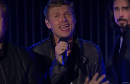 James Corden and the Backstreet Boys take over 'The Late Late Show!'