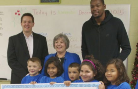 Kevin Durant donates $57,000 to Positive Tomorrows!