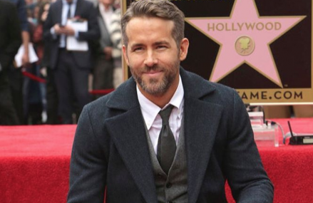 Ryan Reynolds receives his own star on Hollywood Walk of Fame!