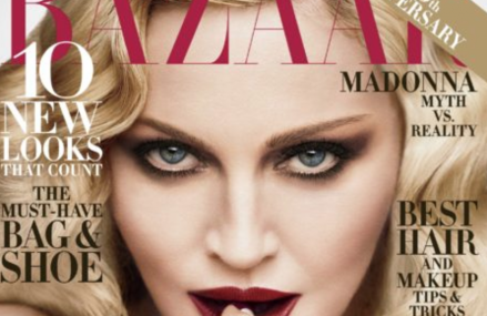 Madonna talks equality, politics and censorship in Harper's BAZAAR Magazine!