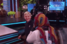 Ellen DeGeneres inspires Sudan Refugee to follow her dreams! Inspiring!