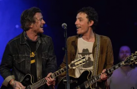 Chris Martin and Jakob Dylan Crohn's disease awareness benefit!