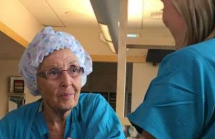 America's oldest nurse still working and inspiring the world!