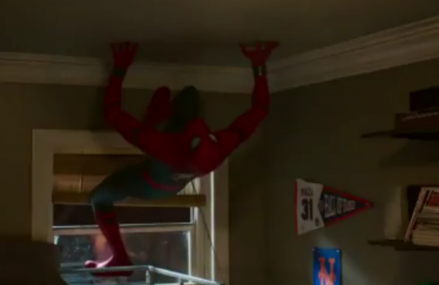 Spiderman: The first look at the brand new spider man clip!