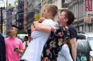 Justin Bieber chills with Patrick Schwarzenegger and Abby Champion!