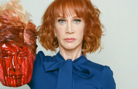 Kathy Griffin apologies for horrific pose with a beheaded Donald Trump!