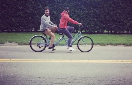 Justin Timberlake and Jimmy Fallon go bro-biking in the Hamptons!