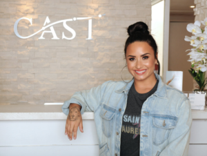 """The CAST experience is an event like I've never seen on tour. With inspirational people speaking every night, it's an event you don't want to miss."" — DEMI LOVATO"