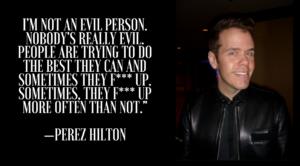 Perez Hilton and Demi Lovato drama heats up! Why he doesn't deserve the drama!
